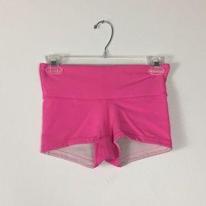 Lululemon hot pink athletic shorts sz 2